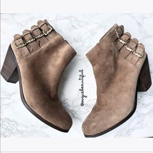 Sam Edelman Lucca Suede Ankle Boots